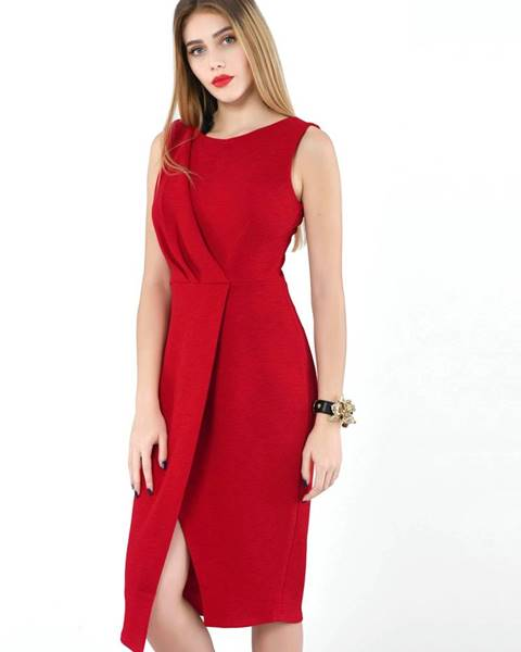 Červené šaty Closet
