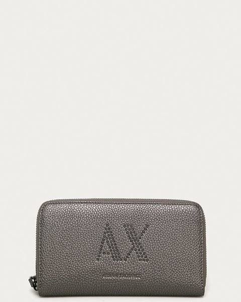 Sivá peňaženka Armani Exchange