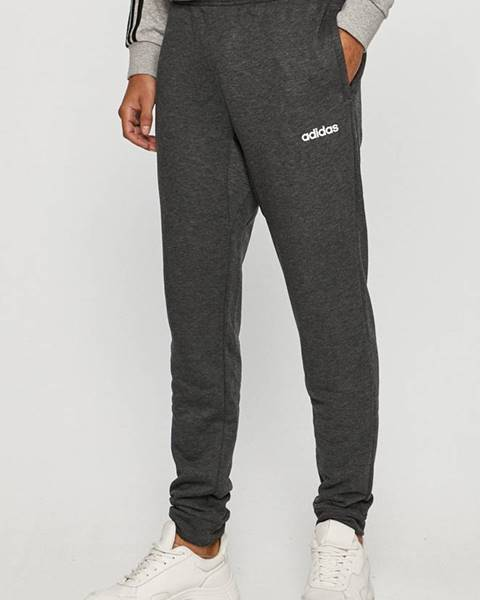 Sivé nohavice adidas
