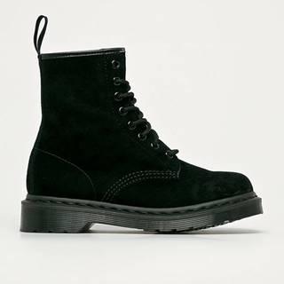 Dr. Martens - Semišové topánky 1460 Mono