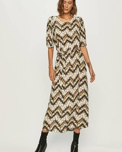 Béžové šaty Jacqueline de Yong