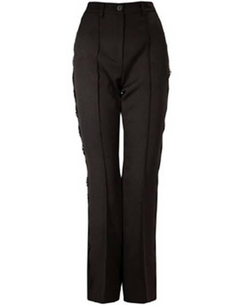 Čierne chino nohavice Denny Rose