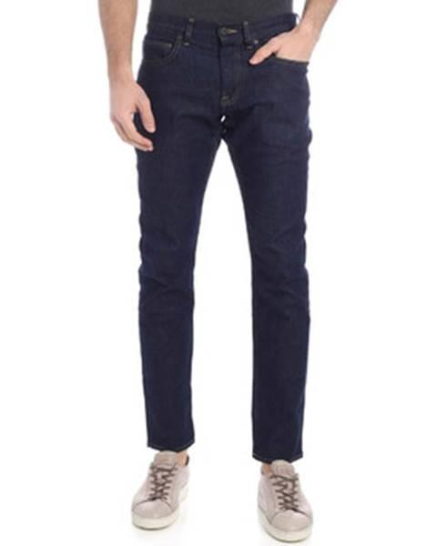 Modré rifle Calvin Klein Jeans