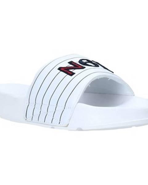 Biele sandále Navigare