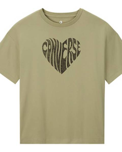 Zelené tričko Converse