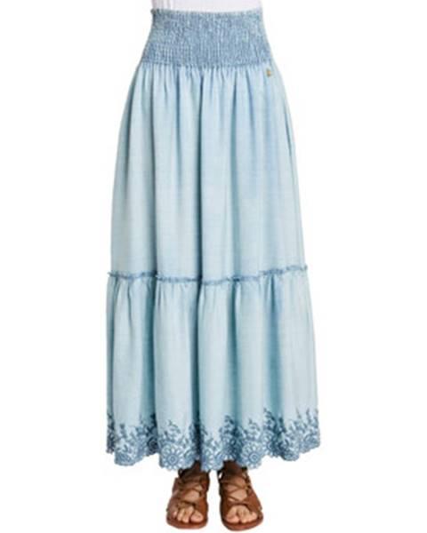 Modrá sukňa Gaudi