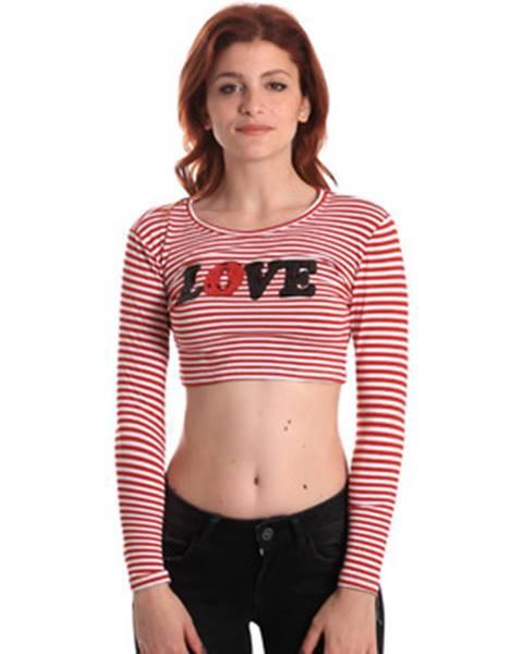 Červené tričko Fornarina