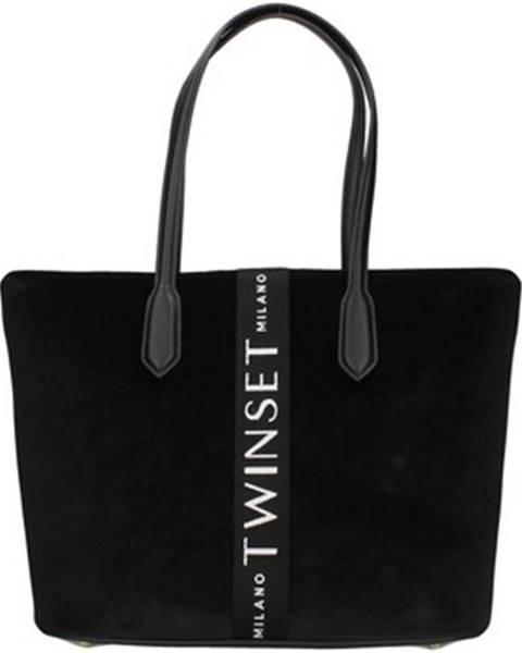 Čierna kabelka Twin Set