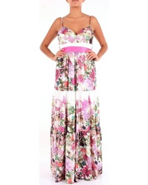 Viacfarebné maxišaty Twins Beach Couture