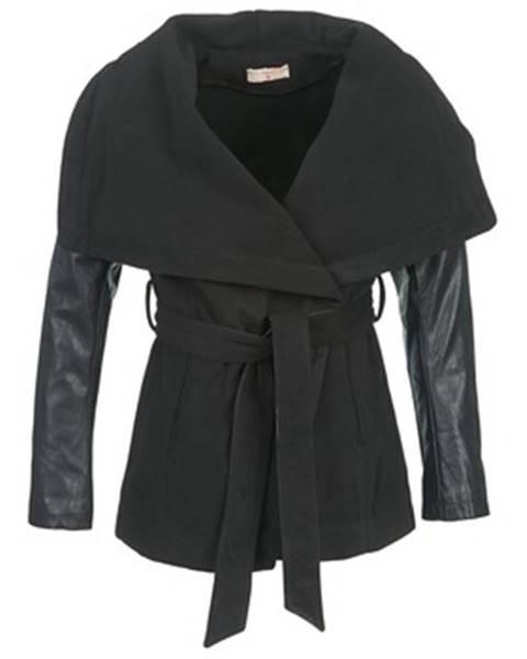 Čierny kabát Moony Mood