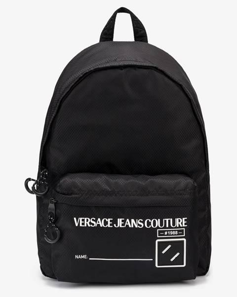 Čierny batoh Versace Jeans Couture