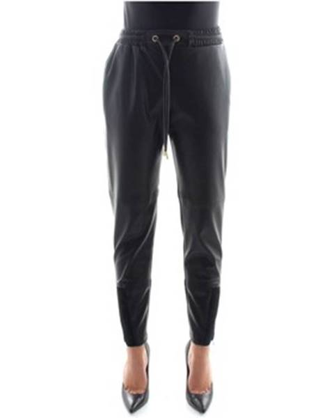 Čierne nohavice Elisabetta Franchi