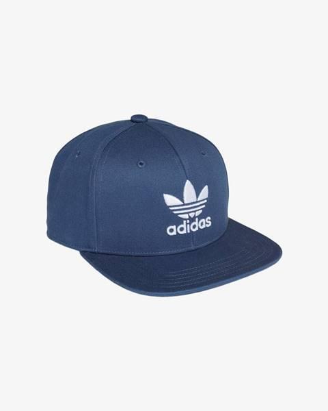 Modrá čiapka adidas Originals