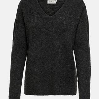 Tmavošedý sveter ONLY Camilla