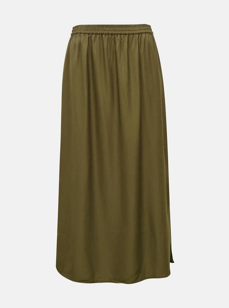 .object Kaki maxi sukňa .OBJECT