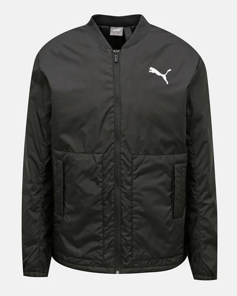 Čierna bunda Puma