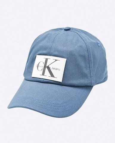 Tmavomodrá čiapka Calvin Klein Jeans
