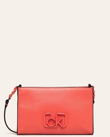 Oranžová kabelka Calvin Klein