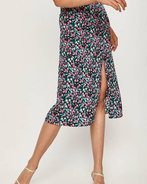Viacfarebná sukňa Answear