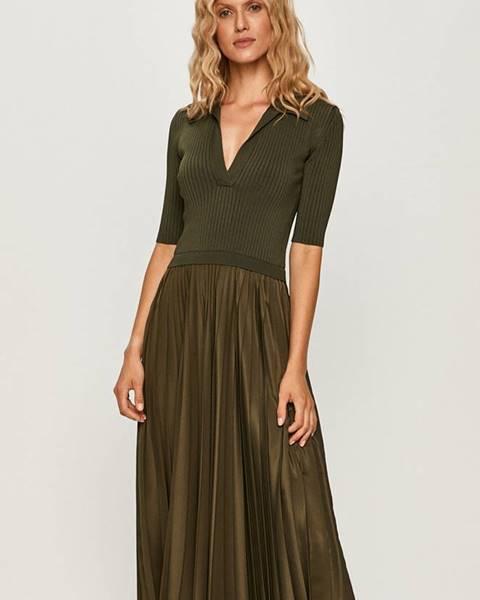 Zelené šaty Sportmax Code