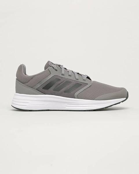 Sivé topánky adidas