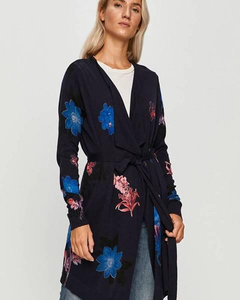 Tmavomodrý sveter Desigual