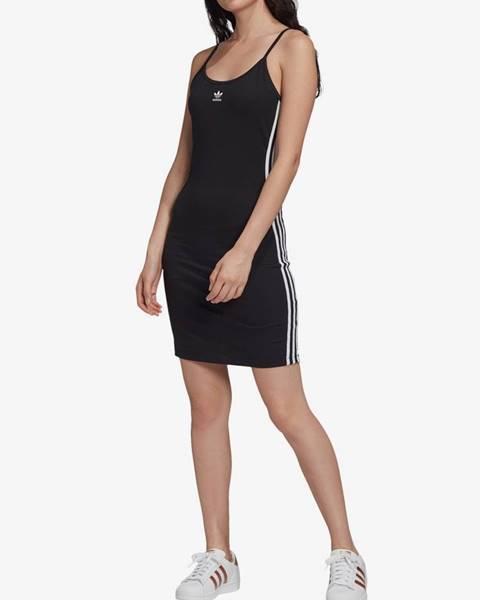 Čierne šaty adidas Originals