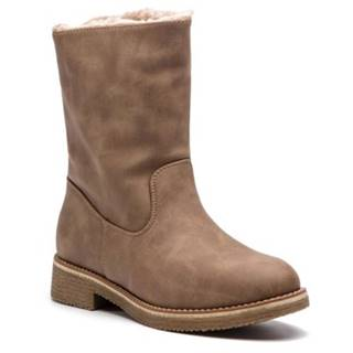 Členkové topánky Jenny Fairy WS16368-9 koža ekologická