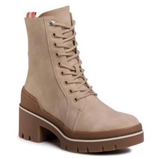 Šnurovacia obuv Jenny Fairy WS5205-01 koža ekologická