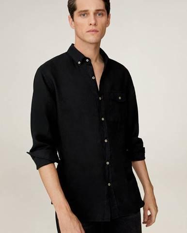 Čierna košeľa Mango Man