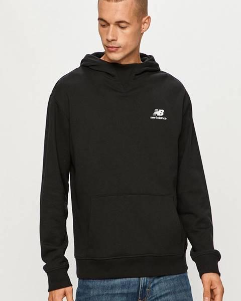 Čierna bunda s kapucňou New Balance