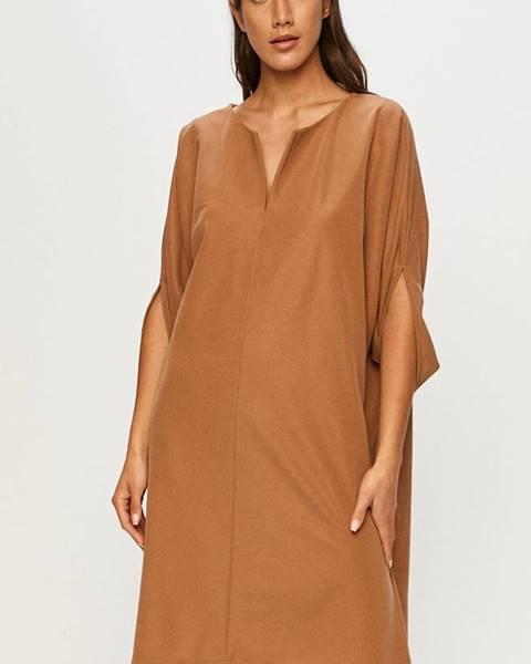 Béžové šaty Answear Lab
