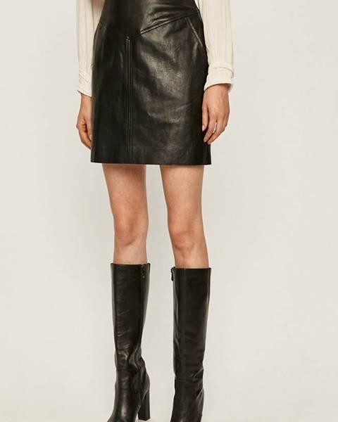 Čierna sukňa Pepe jeans