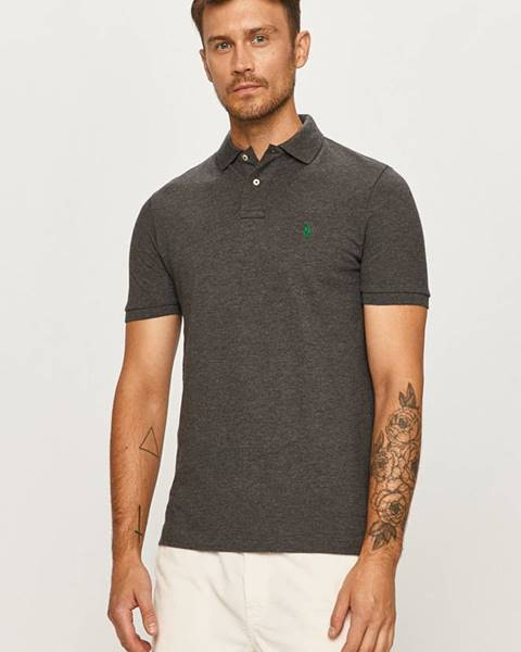 Sivé tričko Polo Ralph Lauren