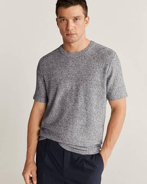 Sivé tričko Mango Man
