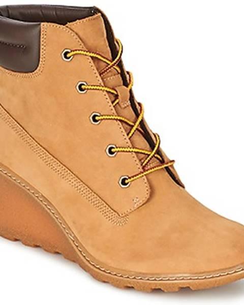 Béžové topánky Timberland