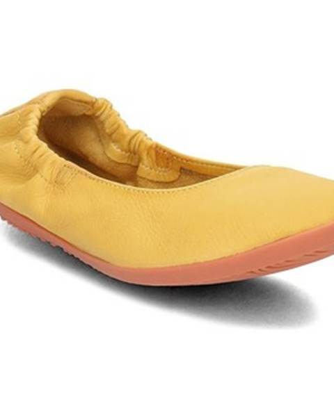 Žlté balerínky Softinos