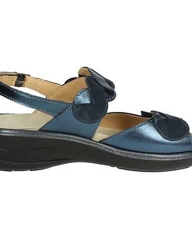 Modré sandále Novaflex