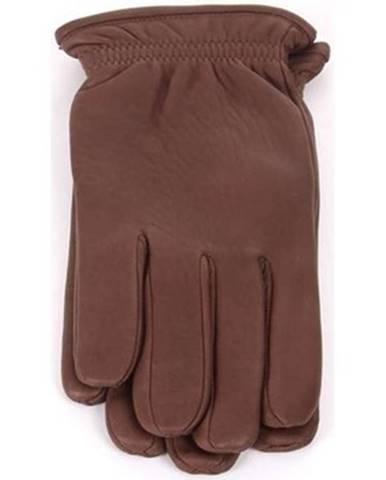 Hnedé rukavice Orciani
