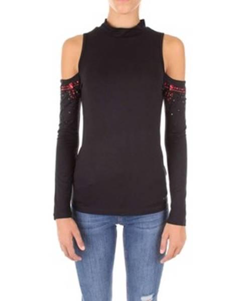 Čierne tričko Gaudi