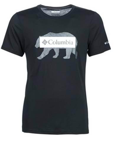 Čierne tričko Columbia