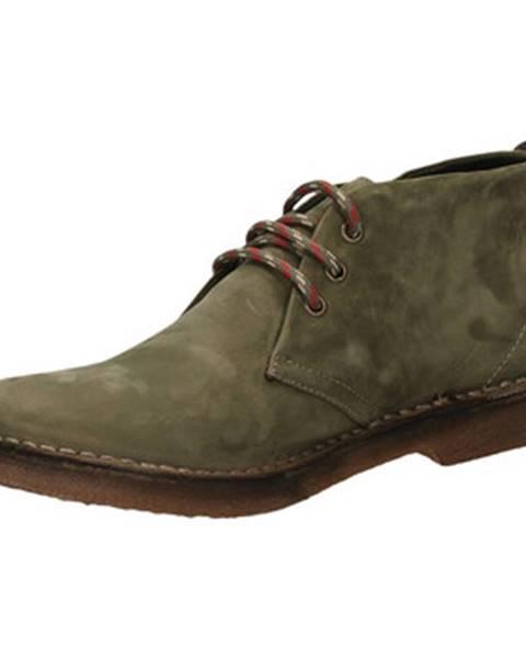 Zelené topánky Café Noir