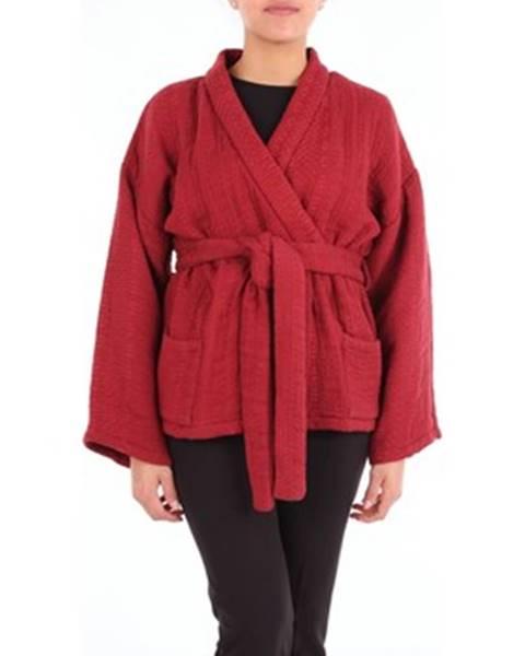 Červená bunda Mes Demoiselles