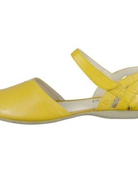 Žlté balerínky Josef Seibel