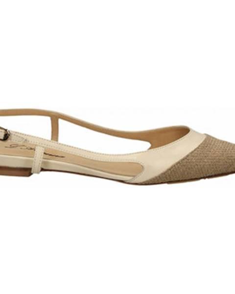 Hnedé sandále L'arianna
