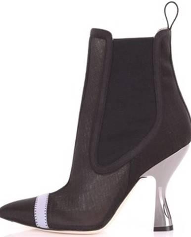 Čierne topánky Vintage