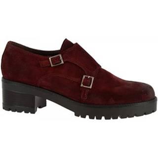Mokasíny Leonardo Shoes  026-16 CAMOSCIO BORDO