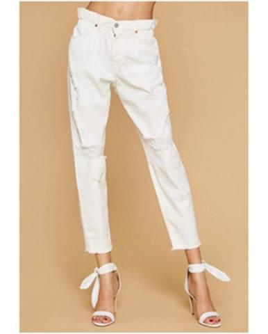 Biele nohavice Aniye By