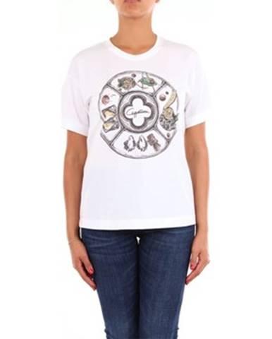 Biele tričko Cappellini