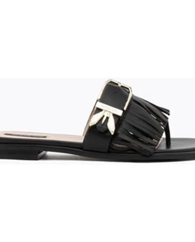 Čierne sandále Patrizia Pepe